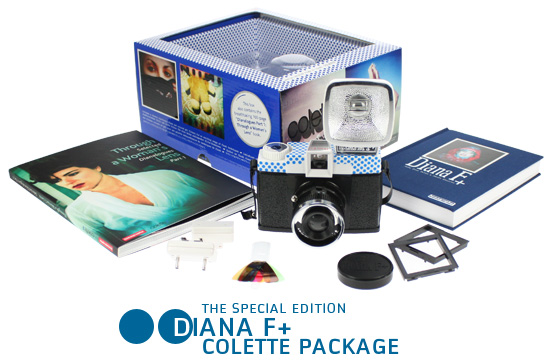 Diana F+ colette edition package