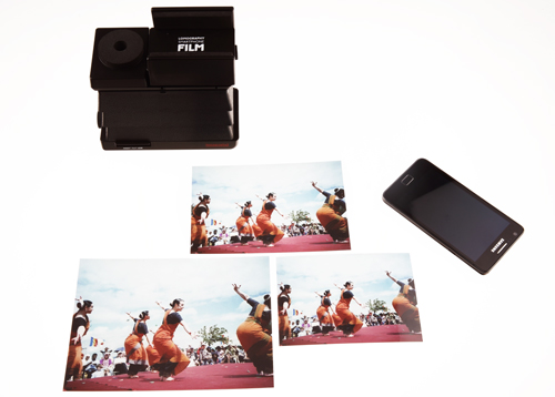 Smartphone Scanner Accessory – Microsite - Lomography
