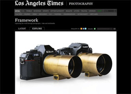 More Press Features On The Lomography Petzval (D)SLR Art Lens